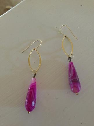 and the earrings that i bought for myself...