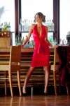 Red Dress by Maggie Coulombe