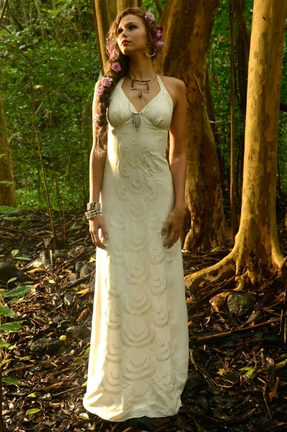 bridal gown | Maui Made