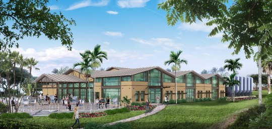 Maui Brewing Company Concept Drawing of Kihei Brewery and Brew Pub