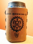 Maui Brewing Leather Can Koozie Father's Day Gift Guide Maui