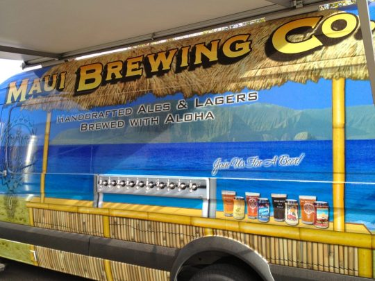MAUI BREWING VAN - Available for private parties