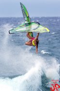 Jimmie has perfected the art of photographing Maui's watersports