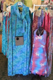 Batik Dresses for Mom and Daughter - Designed by Jeannette on Maui