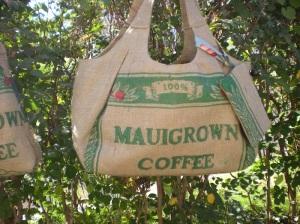Da Kine Tote Bag - Coffee Burlap Bag