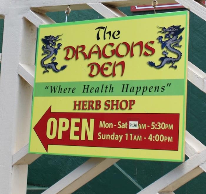 Dragons Den Naturopath Herb Shop