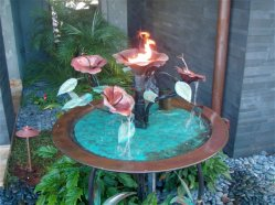 hibiscus.fire.water.feature.fountain