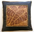 taro blockprint hawaiian art pillow case cover