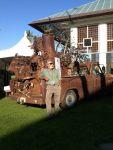 peace of maui metal art truck