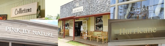 Makawao Boutique Storefront Signs