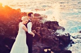 wedding modern vintage maui hawaii photography