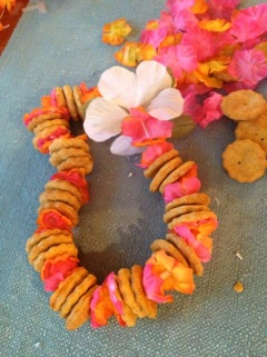 Maui Dog treats Lei