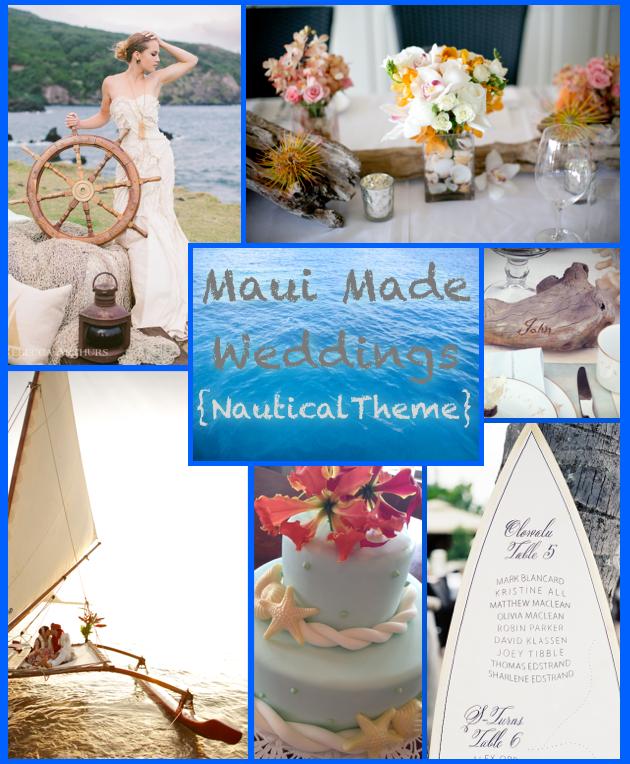 A Maui Made Wedding- Nautical Theme, Part 1 | Maui Made