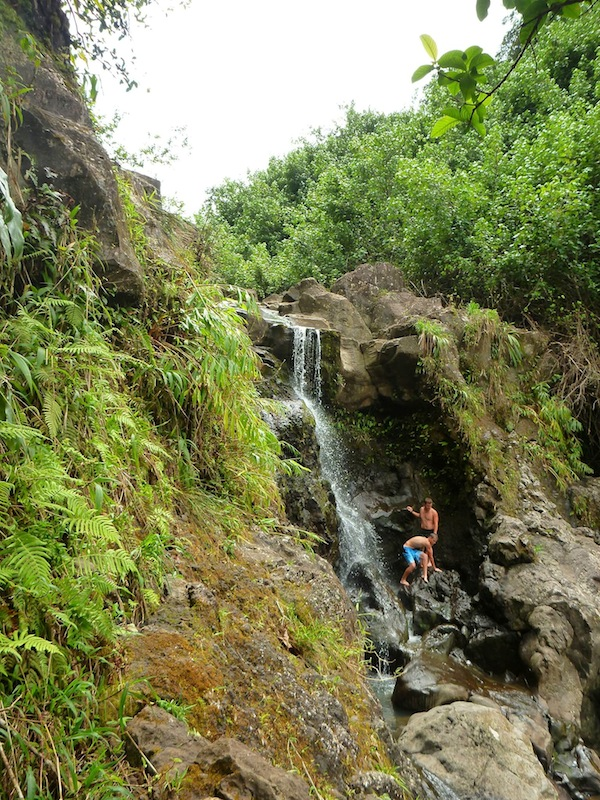 waterfall tour hike private maui