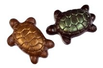 milk and dark chocolate turtles made on maui