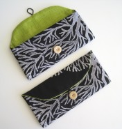 black coral bag purse handmade maui