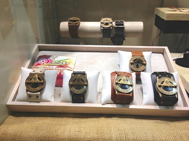 Pandeia Antique Compass Sundial Watch Made on Maui