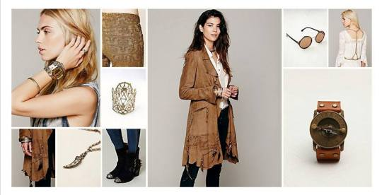 Pandeia Steampunk Nomad Free People Collection