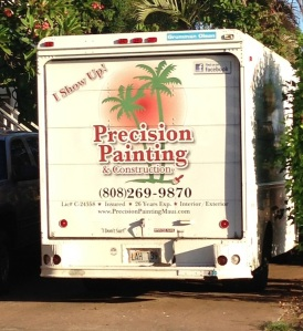 Funny Sign Truck Painting Business