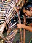 welding floral metal gate maui hawaii