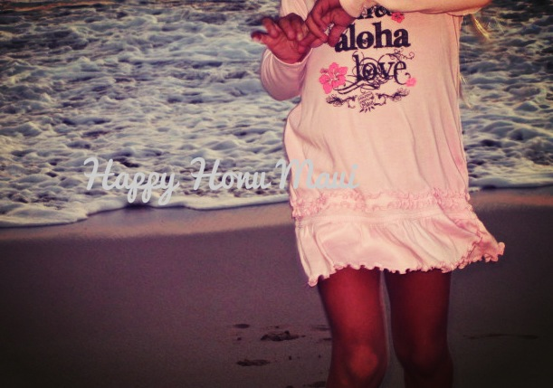 hawaii girls pink dress aloha