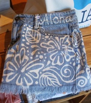 Hand Painted on Maui - DENIM!