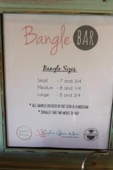 Bangle Bar Sign Menu Options Paia Maui Jewelry