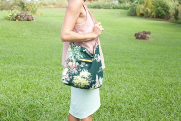floral shoulder bag purse