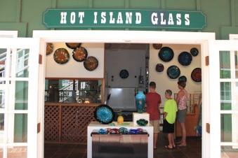 hot island glass