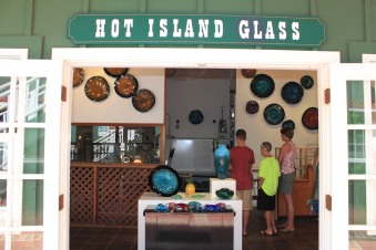 hot island glass