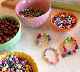 samples of kids bracelets
