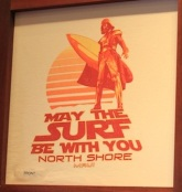 may the surf be with you north shore maui star wars