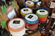loofah soap made on maui paradise garden