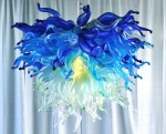 Extreme Makeover Home Edition Hawaii Glass Chandelier