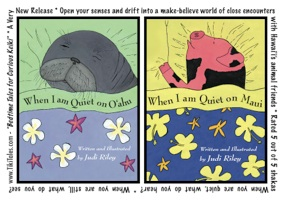 when i am quiet on maui oahu children's book