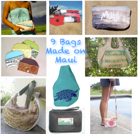 bags hand made on maui hawaii