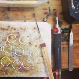 kira ferrer jewelry process design making