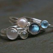 stacking rings.moonlight.water