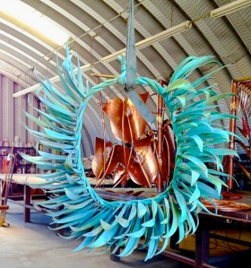 andaz maui metal artwork