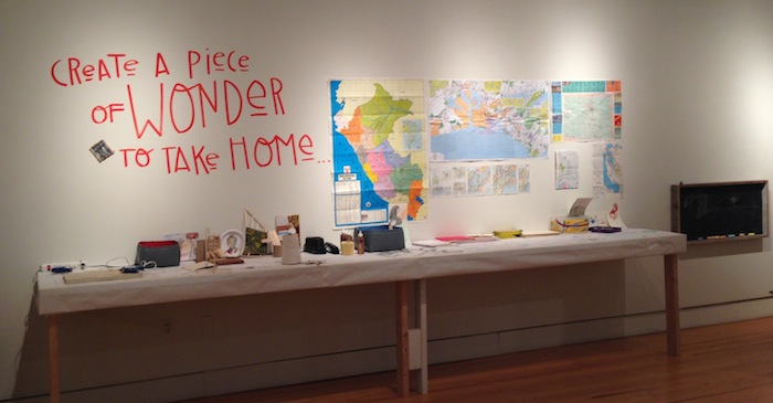 create a piece of wonder to take home