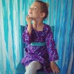 purple.long.sleeve.floral.girl.dress