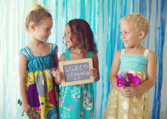 Wildflowers Dresses Custom Order Girls Designer