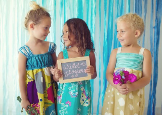 Wildflowers Dresses Custom Order Girls Designer