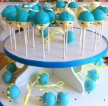 baby shower cake pops decoration