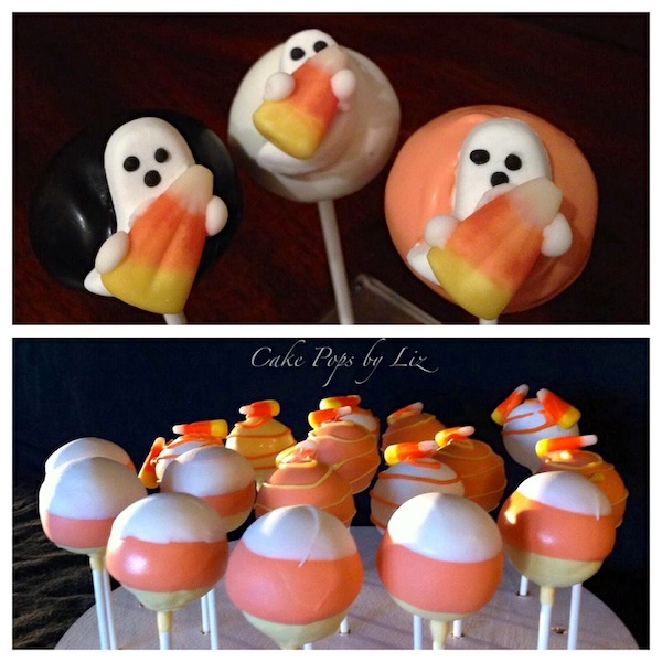 candy corn ghost cake pop available online order
