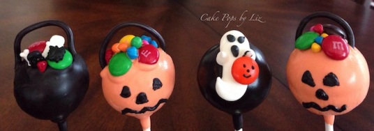 Halloween Cake Pop Decoration