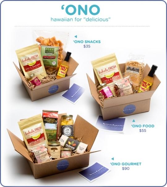 hawaii food gift box