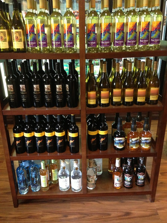 Maui Made Liquor Selection