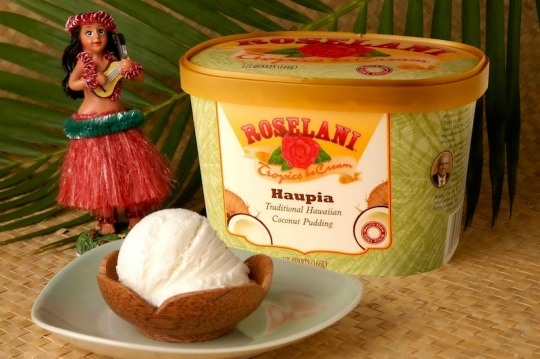 Roselani Haupia Ice Cream