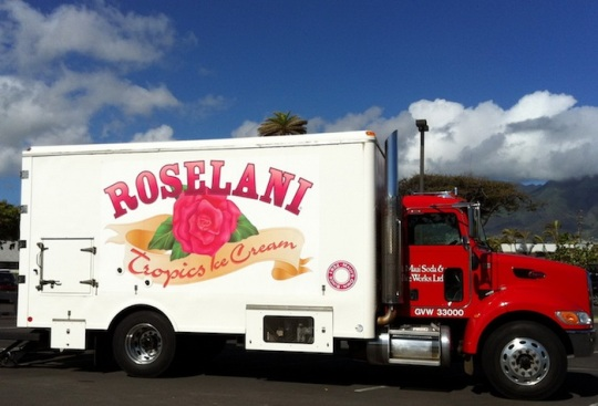 roselani ice cream truck maui hawaii